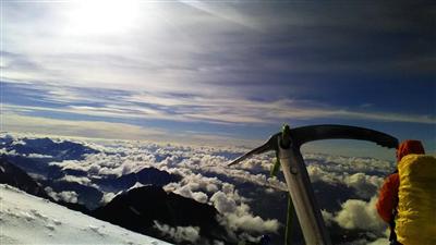 Восхождение на Белуху Восточную, 4509 м