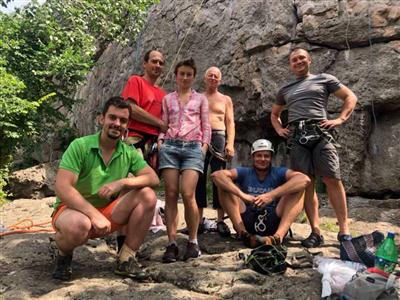 УТС по альпинизму на скалах Ю.Буга
