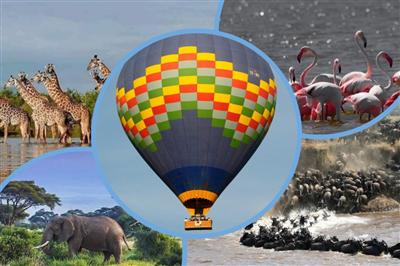 Полеты, сафари. Танзания
