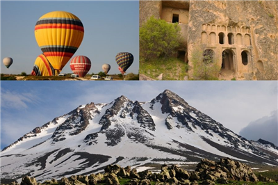 Cappadocia, Ihlara, Hasandagi. Trekking and climbing