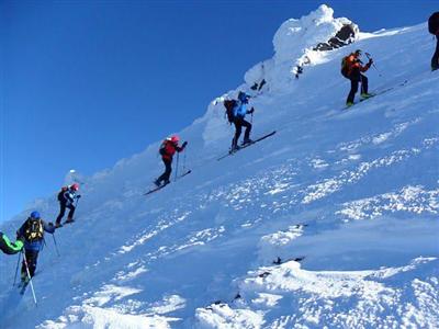 Скитур в Ванских горах, Турция