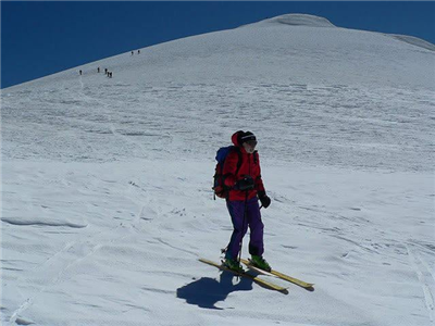 Ski touring Ararat, 6 days