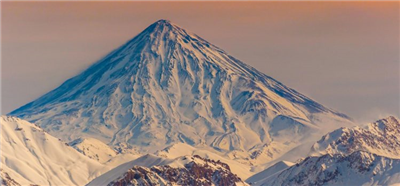 Ski touring Damavand, 4 peaks