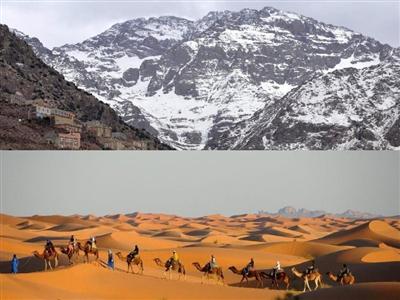 Восхождение на Тубкаль и загадочная пустыня Сахара