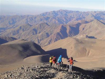 Восхождение на Джебель-М'Гун (4071 м)