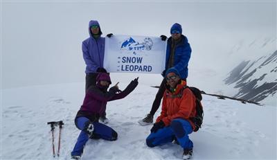 Восхождение на пик Юхина (5130 м)