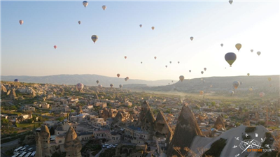 Полеты на воздушном шаре в Каппадокии. Турция