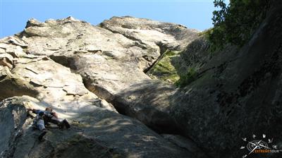 Скалолазный лагерь Скалы Довбуша. Украина